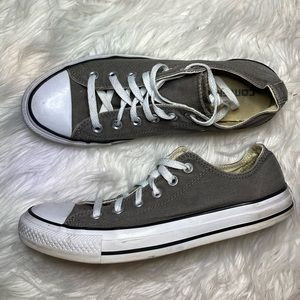 Converse chuck Taylor all star low grey gray 9 7